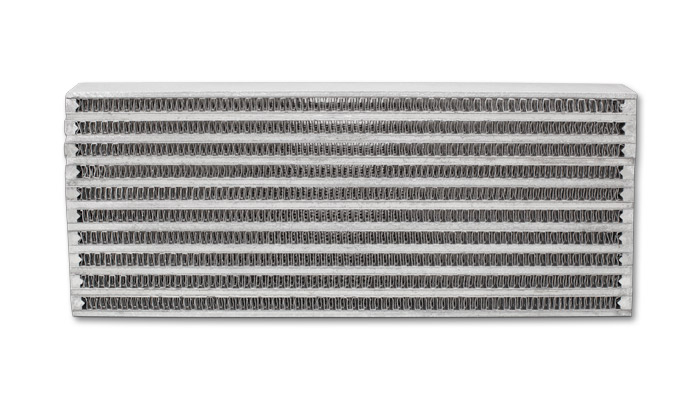"""Vibrant Performance Universal Oil Cooler Core Only: 4"""" x 10"""" x 2"""""""