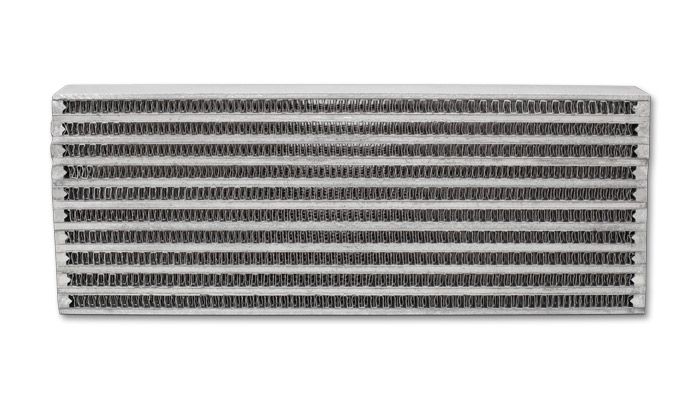 """Vibrant Performance Universal Oil Cooler Core Only: 4"""" x 12"""" x 2"""""""