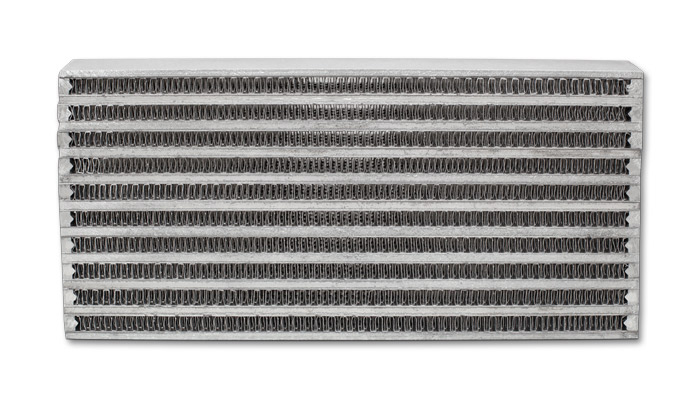"""Vibrant Performance Universal Oil Cooler Core Only: 6"""" x 10"""" x 2"""""""