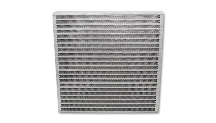 """Vibrant Performance Universal Oil Cooler Core Only: 12"""" x 12"""" x 2"""""""