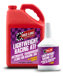 Redline Synthetic Automatic Transmission Fluid : Lightweight Racing ATF