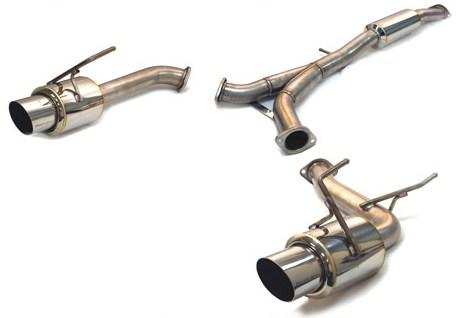 Tanabe Medallion Concept G Catback Exhaust: Nissan 350Z 2003-2006
