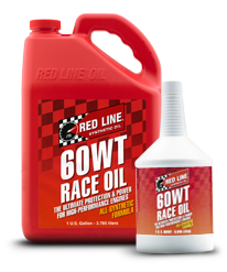Redline Synthetic Drag Race Oil : 60WT (20W60)