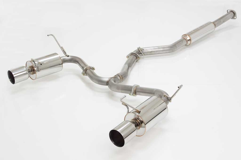 APEX'i N1 EVO-R Cat-back Exhaust : Subaru STI 2008-2012 (SEDAN)