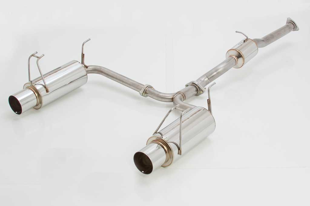 APEX'i N1 EVO-R Cat-back Exhaust : Honda S2000 2000-2009 (DUAL)