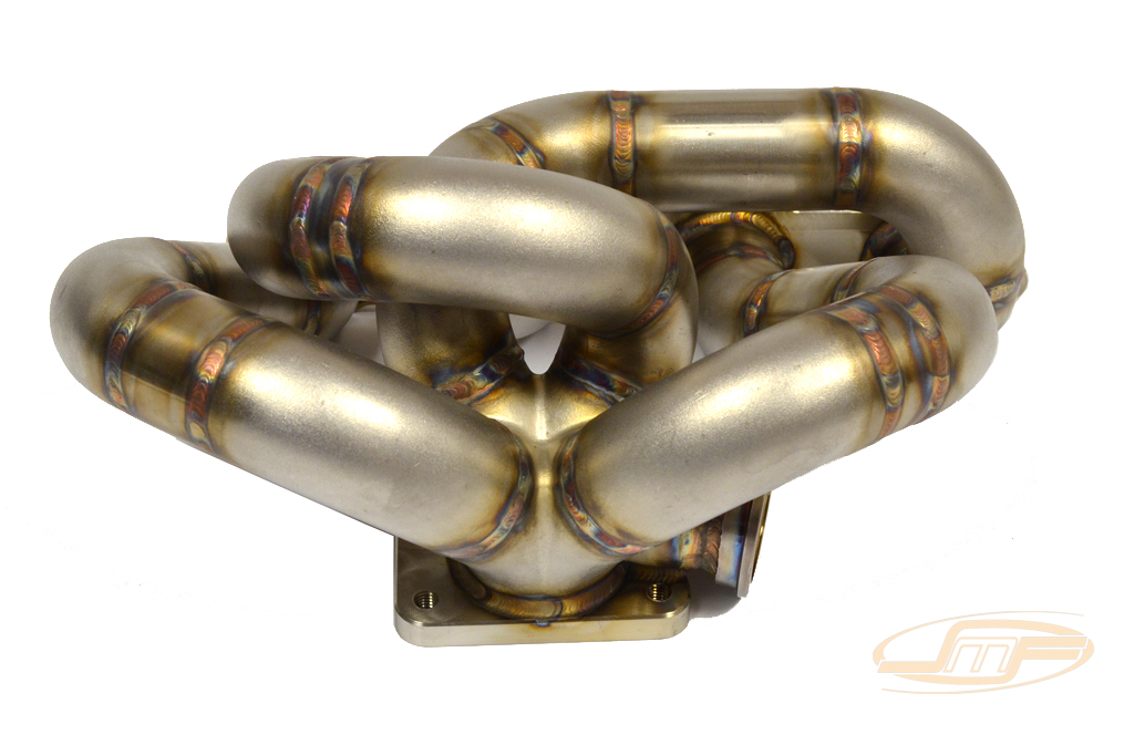 JM Fab Bottom Mount Exhaust Manifold: Mitsubishi Eclipse 1990-99