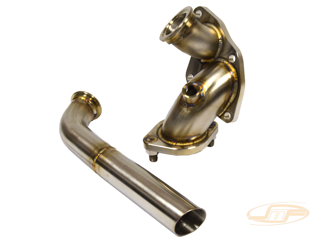 JM Fab DSM SS O2 Housing External Wastegate (Atmosphere Dump): Mitsubishi Eclipse 1990-99