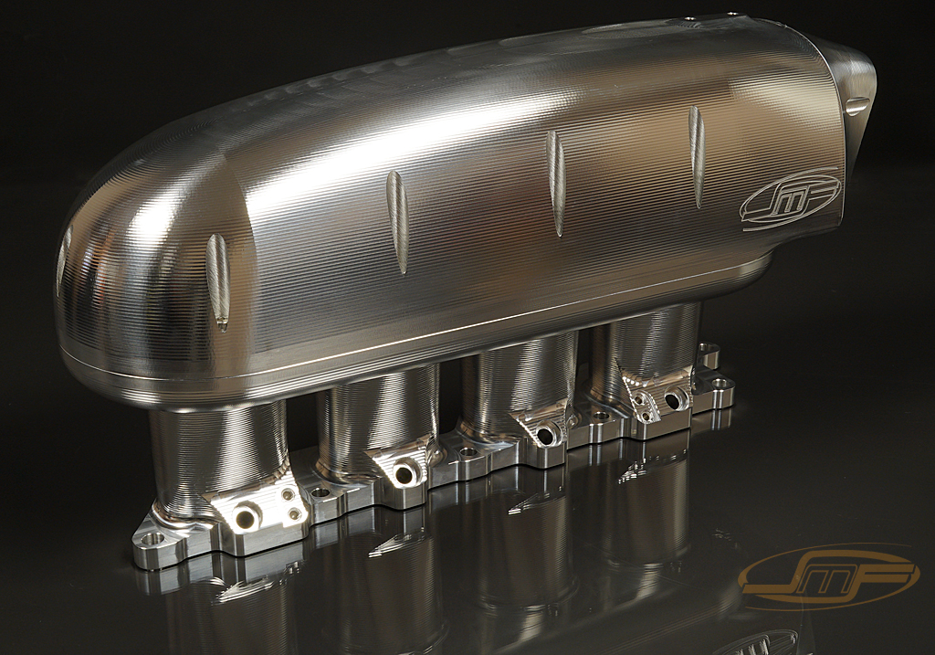 "JM Fab ""Drag Version"" Billet Sheetmetal Intake Manifold : Mitsubishi Evolution VIII & IX 2003-2006 **NEW VERSION**"
