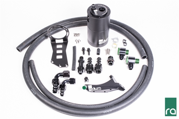 Radium Engineering Air Oil Separator (AOS) Kit: Subaru WRX 2015+