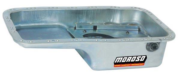 Moroso 5.5 Quart Oil Pans: Acura/Honda B-Series