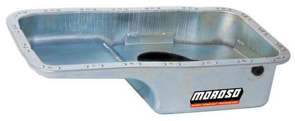 Moroso 4 Quart Oil Pans: Acura/Honda B-Series