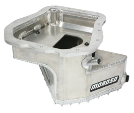Moroso Wet Sump 5 Quart Competition Baffled Oil Pan: Subaru EJ20, EJ22, EJ25