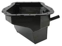 Moroso Wet Sump 6 Quart Black-Zinc Steel Oil Pan: Subaru EJ20, EJ22, EJ25