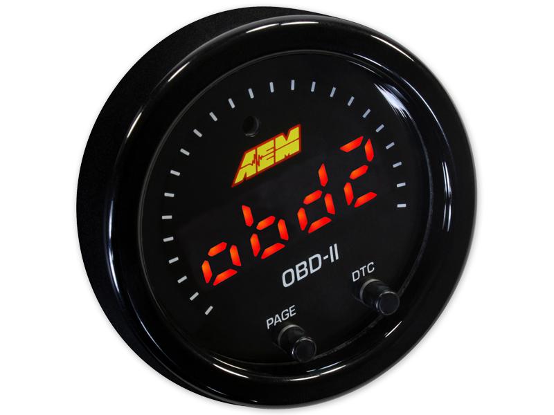 AEM X-Series OBD2 Digital Datastream Gauge