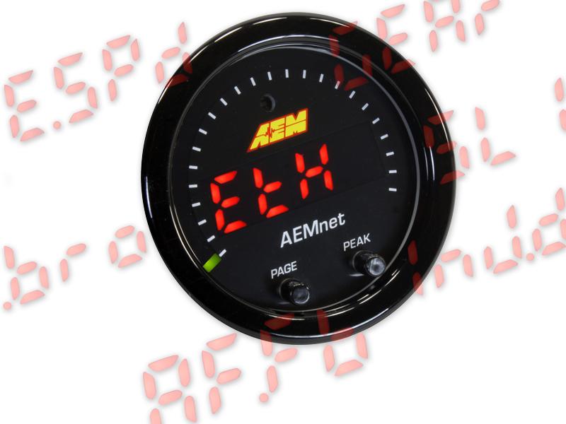 AEM X-Series AEMNet CAN bus Gauge