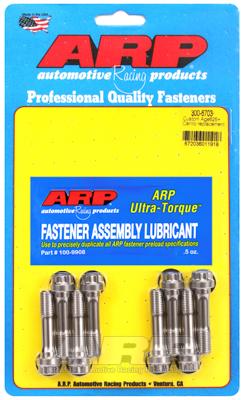 "ARP Replacement Rod Bolt Kit: Custom Age 625+ 3/8"" Thread 1.600"" UHL (8-Piece Kit)"