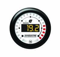 "Innovate Motorsports MTX-D Digital ""Dual-Function"" Gauge: Vacuum/Boost (-29HG to 43.5PSI) & Shift Light"