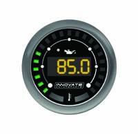 "Innovate Motorsports MTX-D Digital ""Dual-Function"" Gauge: Oil Pressure (0-150 PSI) & Oil Temperature (120-280 °F) **NEW DESIGN**"