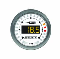 Innovate Motorsports MTX-D Digital Gauge: Exhaust Gas Temperature (32 - 1999 °F)