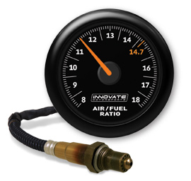 Innovate Motorsports MTX-AL Analog Series Gauge: Wideband Air/Fuel Ratio Gauge