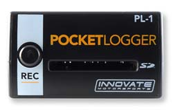 Innovate Motorsports PL-1 Pocket Logger Kit