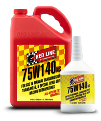 Redline Synthetic Gear Oil : 75W140 NS GL-5