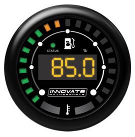 Innovate Motorsports MTX-D: Ethanol Content % & Fuel Temp Gauge Kit (Excludes Ethanol Sensor)