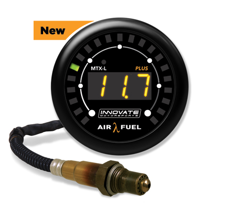 Innovate Motorsports MTX-L PLUS: Digital Wideband Air/Fuel Ratio Gauge (Includes: LSU 4.9 sensor)