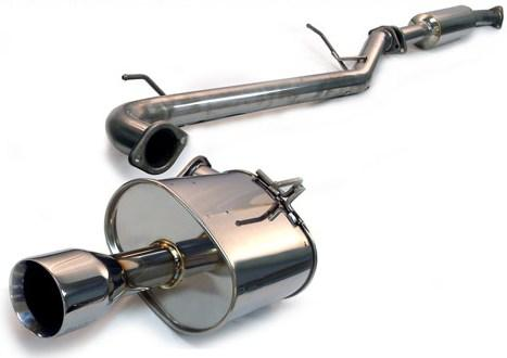 Tanabe Medallion Touring Catback Exhaust: Acura RSX Type S 2002-2005