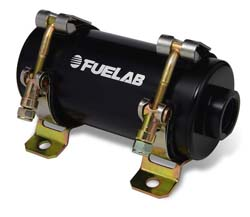 Fuelab Prodigy 40402 Reduced Size Carbureted In-Line Fuel Pump: 160 GPH @ 15 PSI (Up to 800HP)