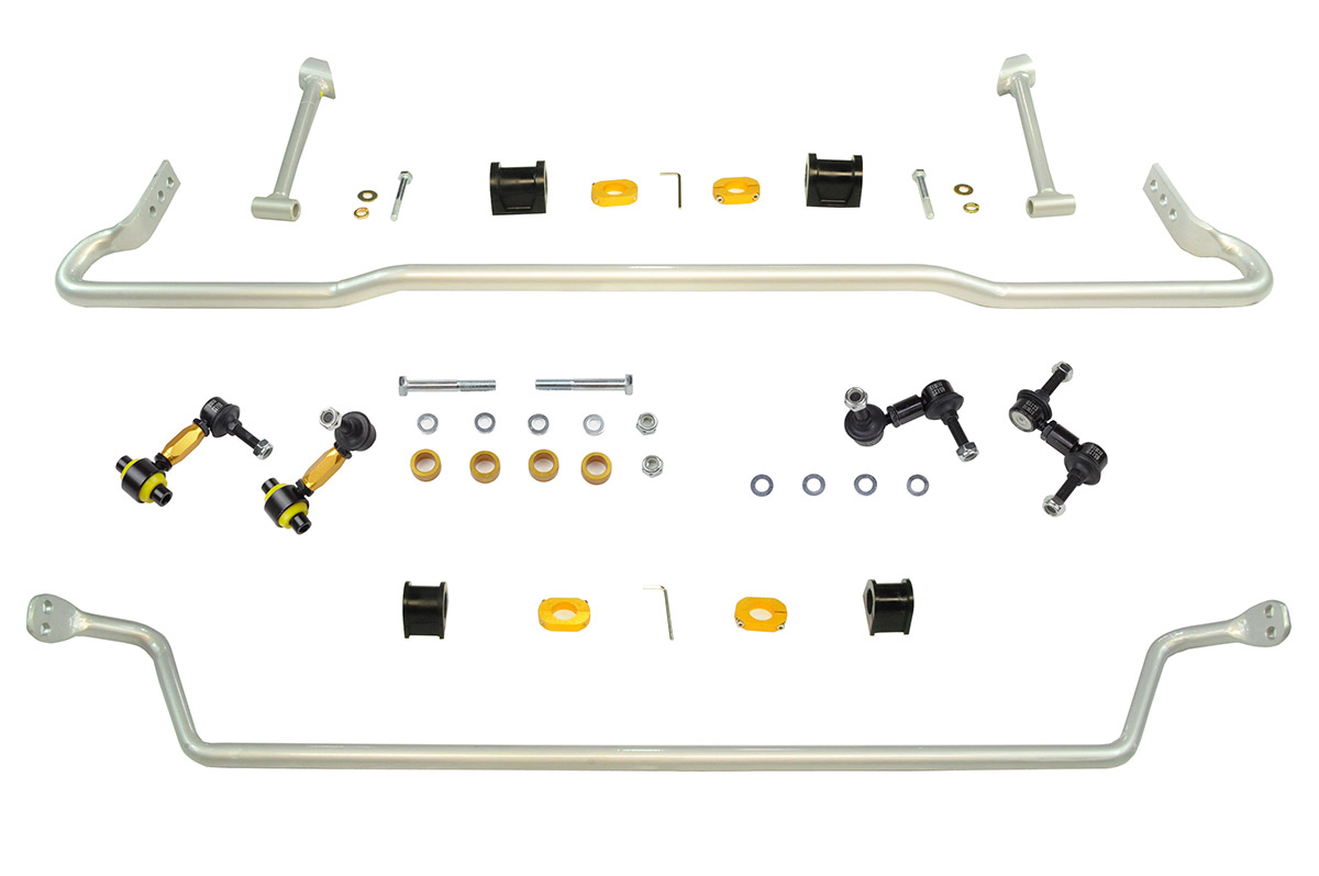 Whiteline Automotive Front And Rear Sway Bar Kit: Subaru WRX 2008-2011