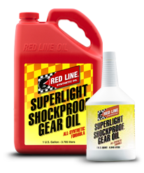 Redline Shockproof Gear Oil : Superlight