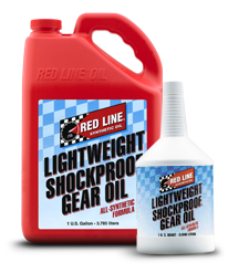 Redline Shockproof Gear Oil : Lightweight