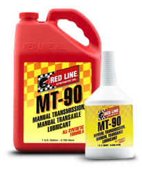 Redline Synthetic Manual Transmission Fluid : MT-90 75W90 GL-4