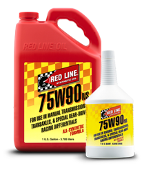 Redline Synthetic Manual Transmission Oil : 75W90 NS GL-5