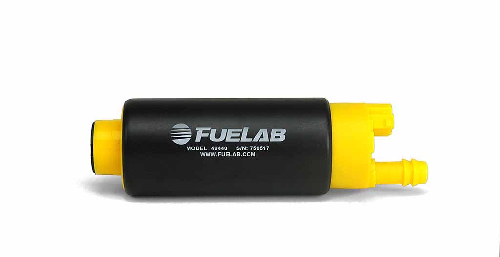 Fuelab High Ouput In Tank Electric Fuel Pump: 340 LPH Center Inlet