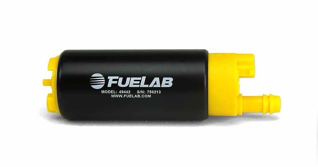 Fuelab High Ouput In Tank Electric Fuel Pump: 340 LPH In-Line Inlet
