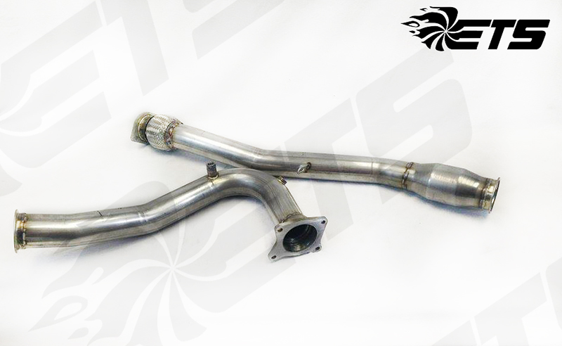 Extreme Turbo Systems High Flow Catted Down Pipe: Subaru WRX 2015-18