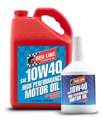 Redline Synthetic Motor Oil : 10W40