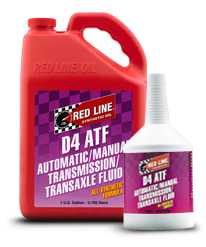 Redline Synthetic Automatic Transmission Fluid : D4 ATF