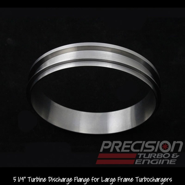 "Precision T & E T5/T6 Large Frame Turbine Discharge Flange - 5 1/4"" (Mild Steel)"