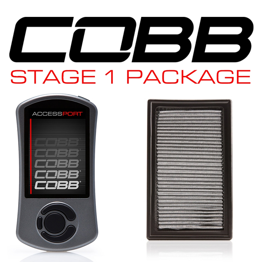 Cobb Tuning Stage 1+ Power Package with V3: Subaru WRX 2002-05