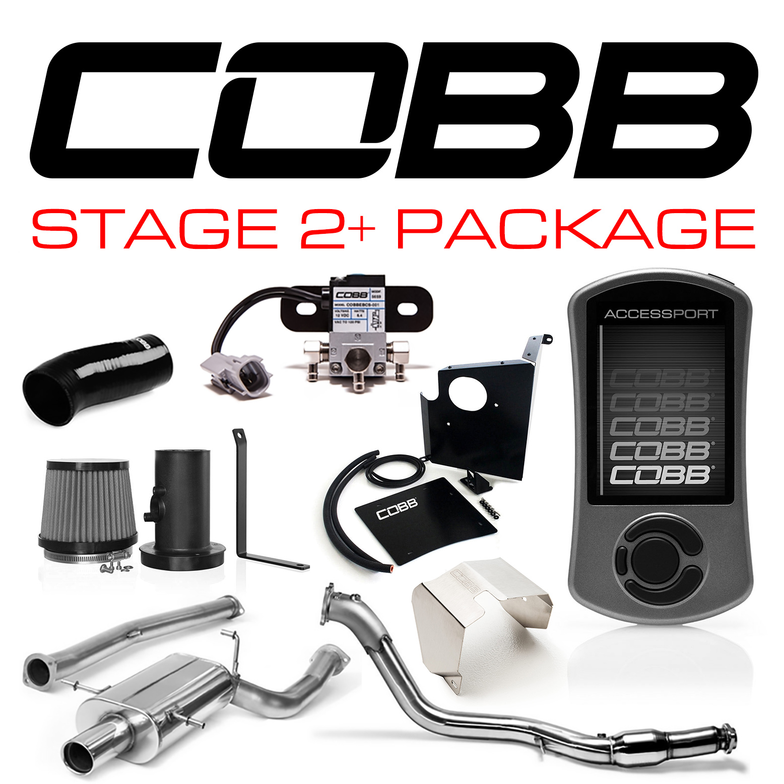 Cobb Tuning Stage 2 Power Package With V3 Subaru WRX 2006 07 28632