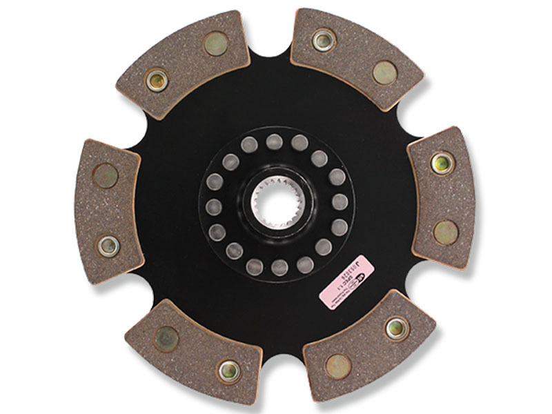 ACT 6-Puck Clutch Disc: 90-95 Toyota MR-2 Turbo 2.0L 3SGTE