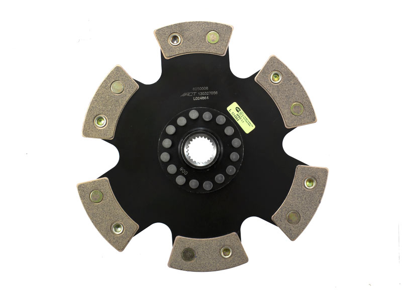ACT 6-Puck Clutch Disc: 90-99 Mitsubishi 3000GT VR4 Turbo 4WD