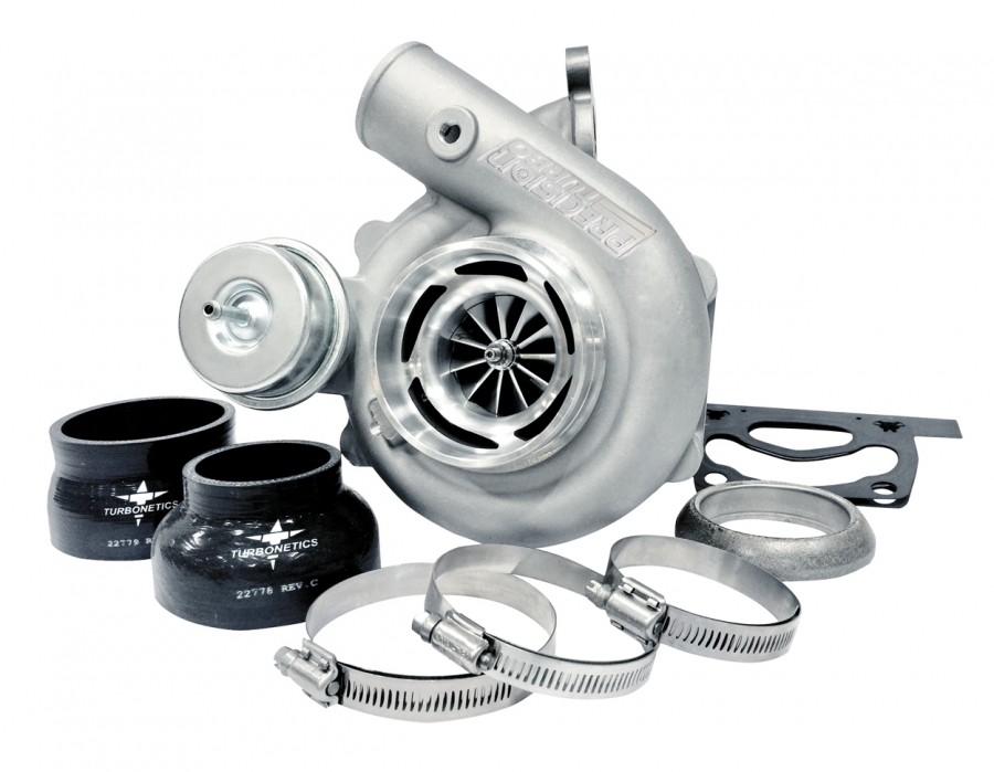 Precision T & E Factory Upgrade Turbocharger: Ford Mustang Ecoboost 2.3L Turbocharger (525 HP)