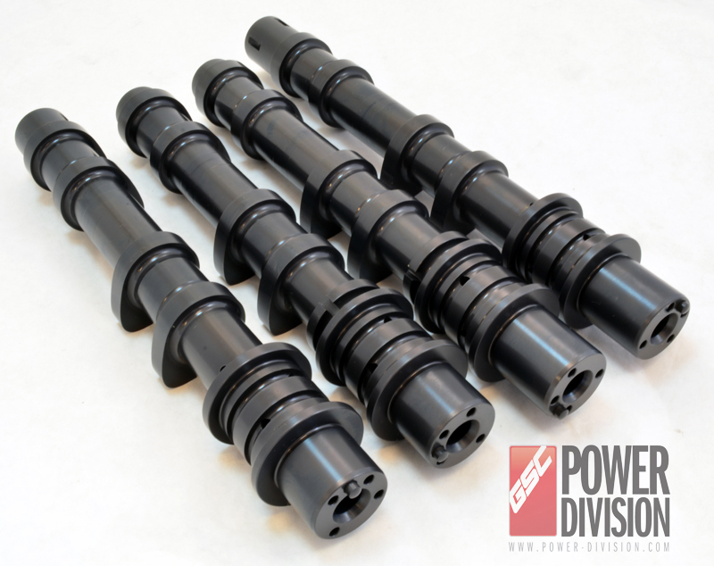 GSC Power Division Stage 1 Billet Camshafts (266/264): Subaru EJ2557 with Dual AVSC