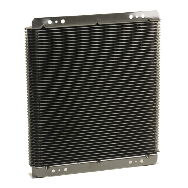 "B & M Universal Engine & Transmission Large Oil Cooler (11""x11""x1.5"")"