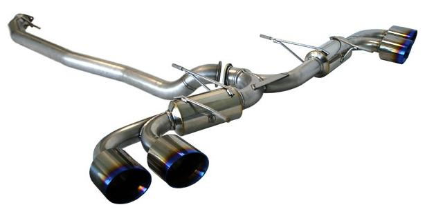 Tanabe Medallion Touring Catback Exhaust: Nissan GT-R 2009-2015