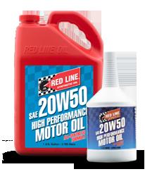 Redline Synthetic Motor Oil : 20W50